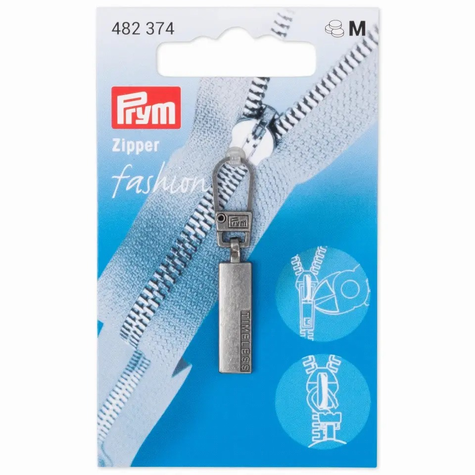 Prym Fashion Zipper - Classic TIMELESS - Altsilber - 482374