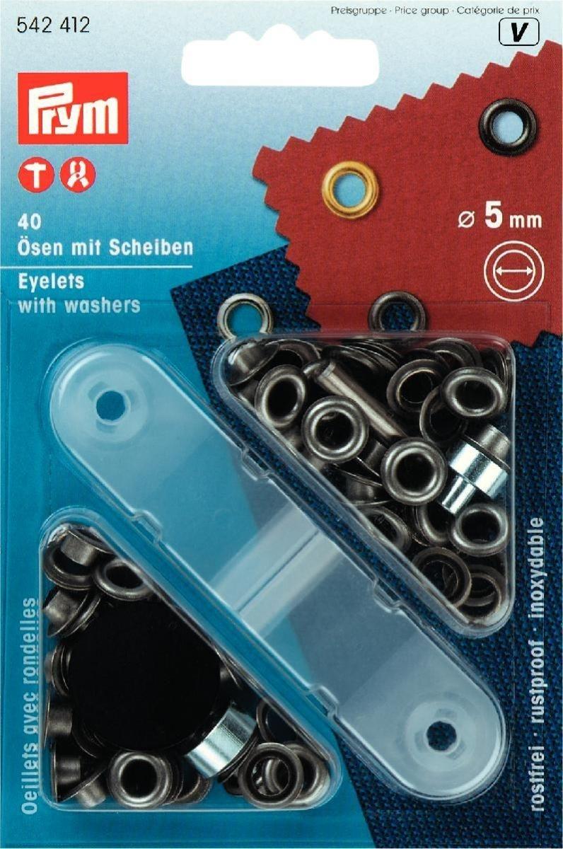 Ösen und Scheiben MS 5,0 mm alteisen