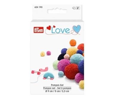 Prym Love -Pompon Set - Tool zum Herstellen von Pompons
