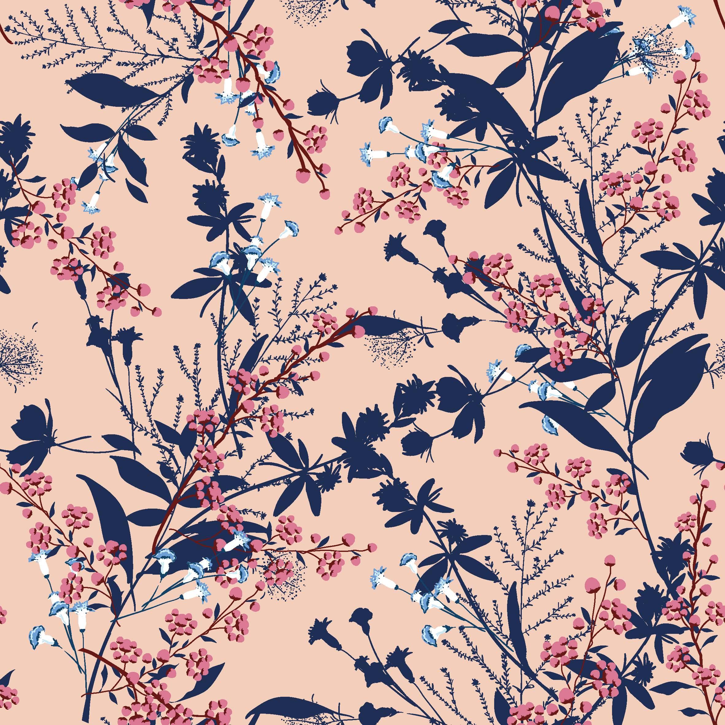 Baumwolljersey - Flower Dream - Schnuckidu Eigenproduktion - Vorbestellung