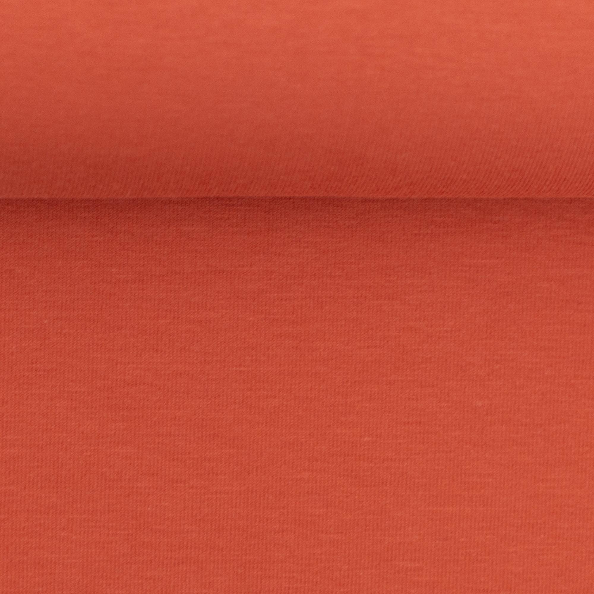 Baumwoll Jersey - Jersey Stoff - Swafing - Vanessa - Uni - Orange