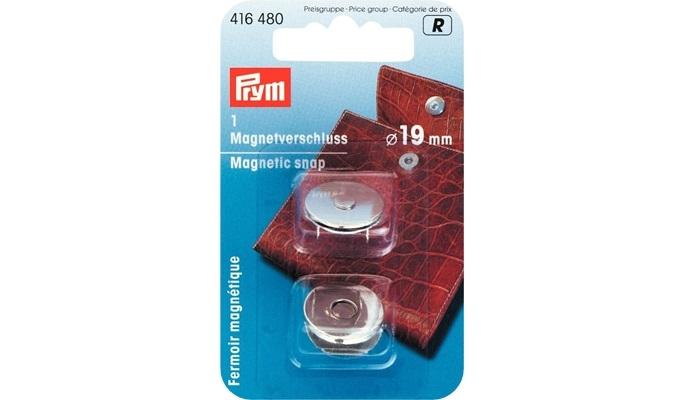 Prym - Magnet-Verschluß Silber 416480