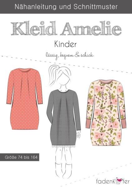 Papierschnittmuster Fadenkäfer - Kleid Amelie - Kinder