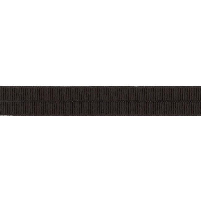 Elastisches Einfassband matt - Dunkelbraun