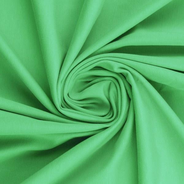 Baumwoll Jersey - Jersey Stoff - Swafing - Vanessa - Uni - helles Mint
