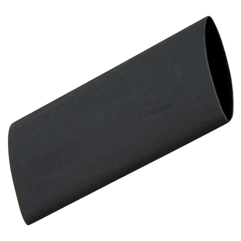 Schrumpfschlauch - Kordelenden - Schwarz - 35mm - 1 Stück