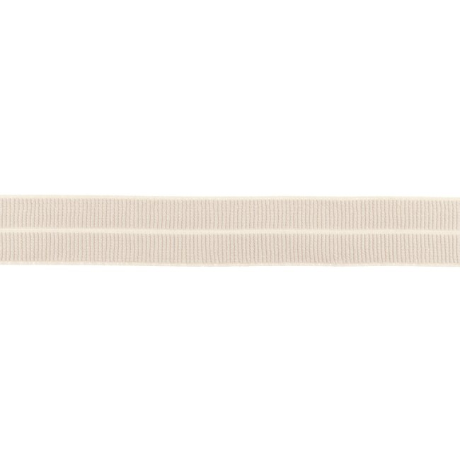 Elastisches Einfassband matt - Taupe