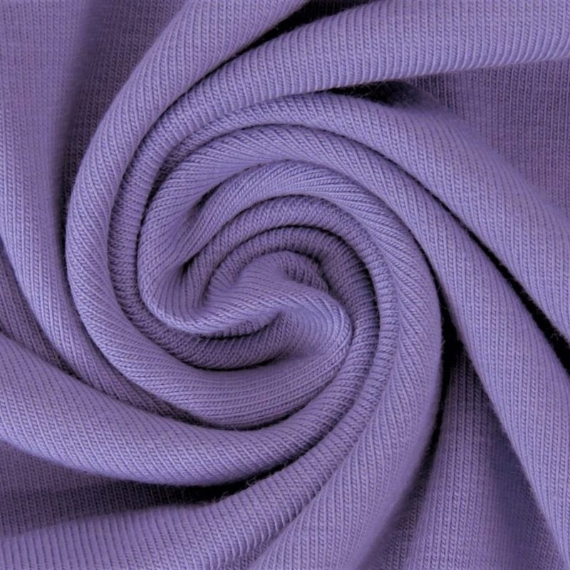 Sommersweat Stoff - French Terry - nicht angeraut - Lavendel