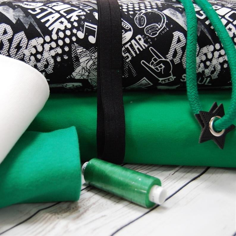 Rockstar Stoffpaket - Männer - 6 Meter Tüddelkram und Stoffe