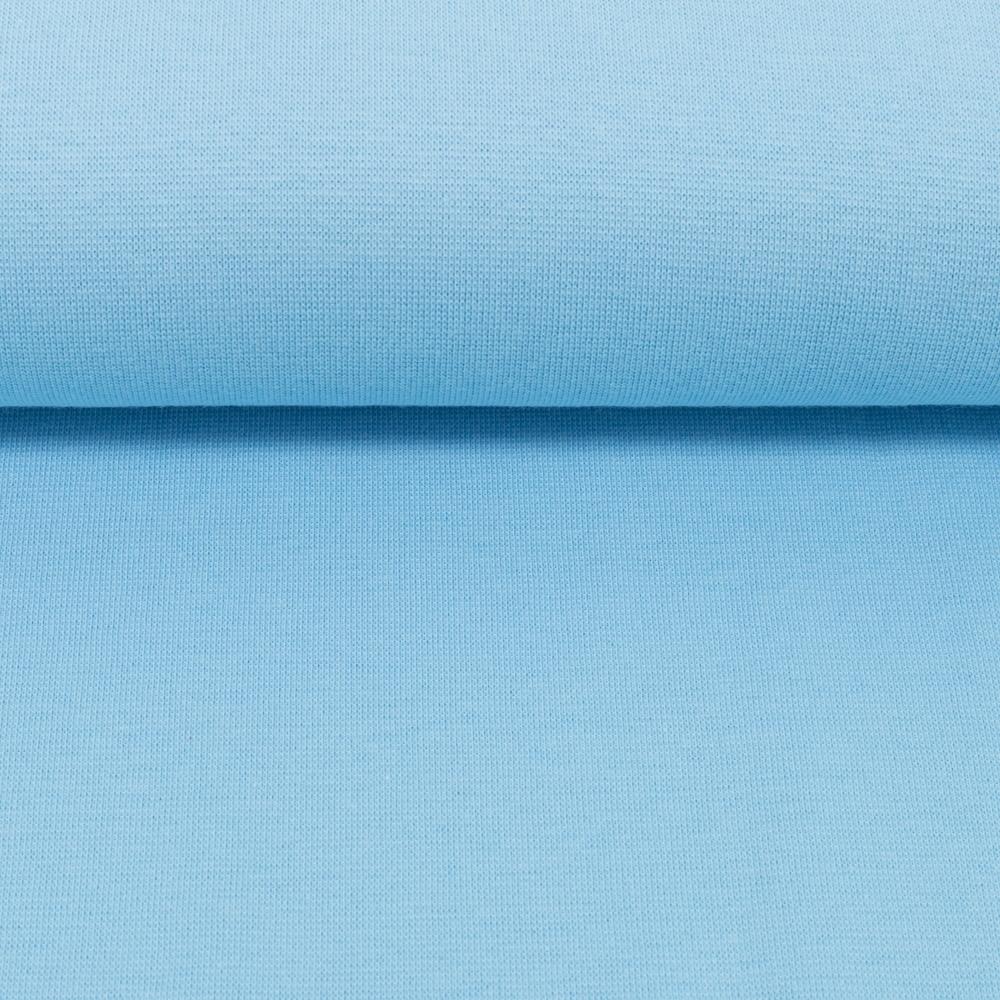 Heike, Schlauchware **Öko-Tex Standard 100**, Bündchen, uni, hellblau