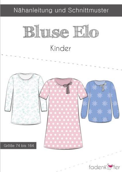 Papierschnittmuster Fadenkäfer - Bluse Elo - Kinder