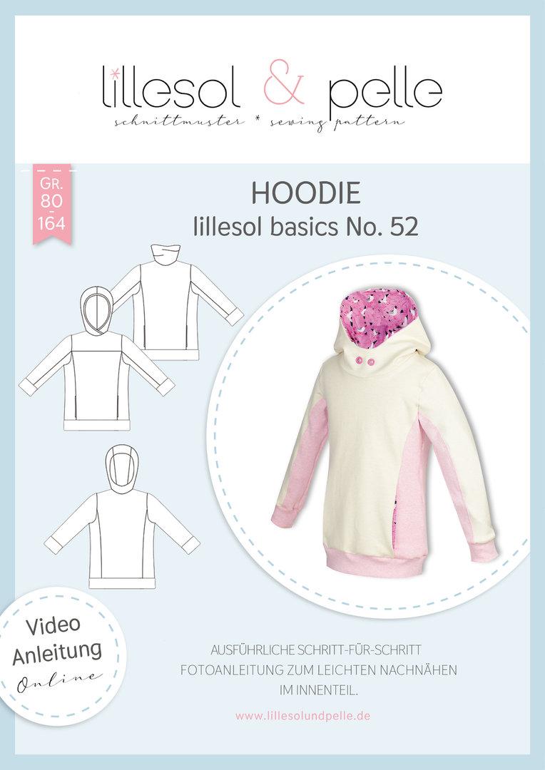 Papierschnittmuster lillesol basics No.52 Hoodie