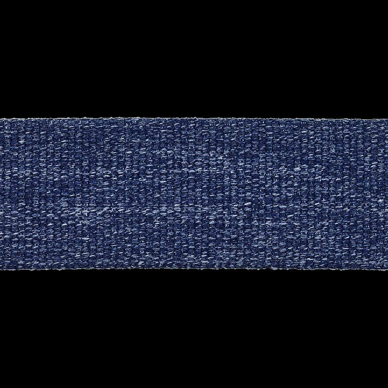 Taschengurtband - Gurtband - 40mm - meliert - Dunkelblau
