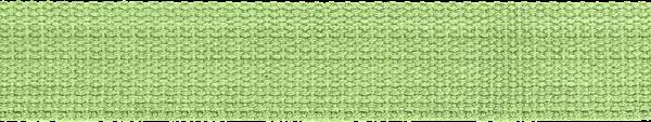 Hochwertiges Gurtband Baumwolle - Baumwollgurtband - 30mm - Grün