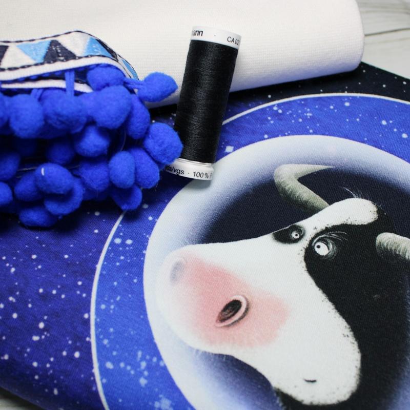 Panel - Panelstoffpaket - Kombi - Space Cowboy