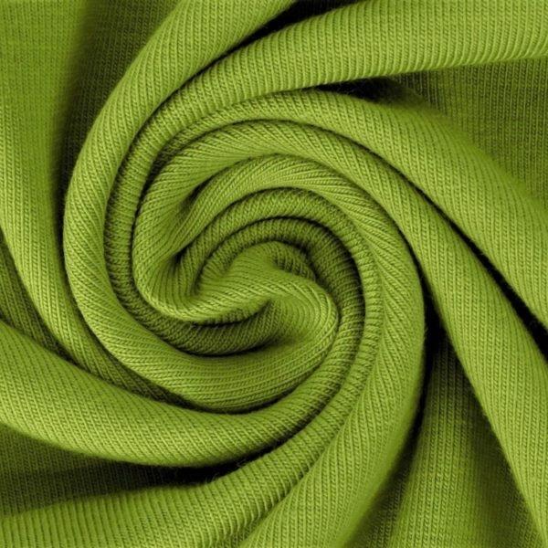 Baumwolljersey - Jersey Stoff Uni - Lime