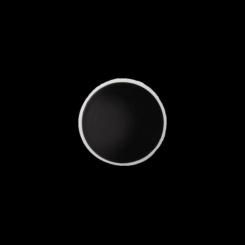 Knopf - Knöpfe - Zierteil - Sicherheits-/Stecknase - 12mm - Rund - Schwarz - 1 Stück