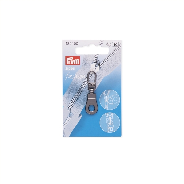 Prym - Fashion-Zipper, Öse, gunmetal 482100