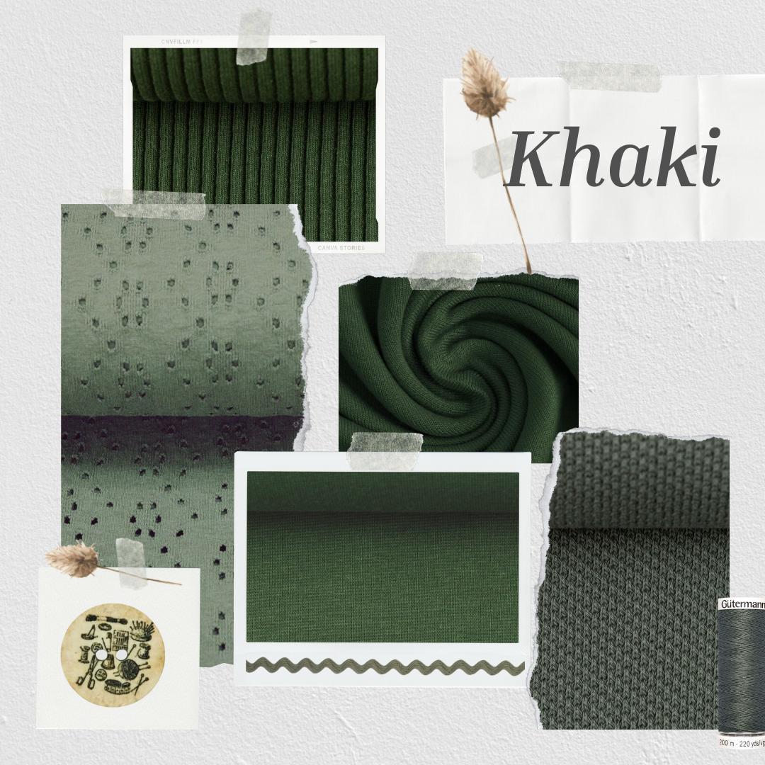 Inspiration - Farbwelten - Farbwelt Khaki