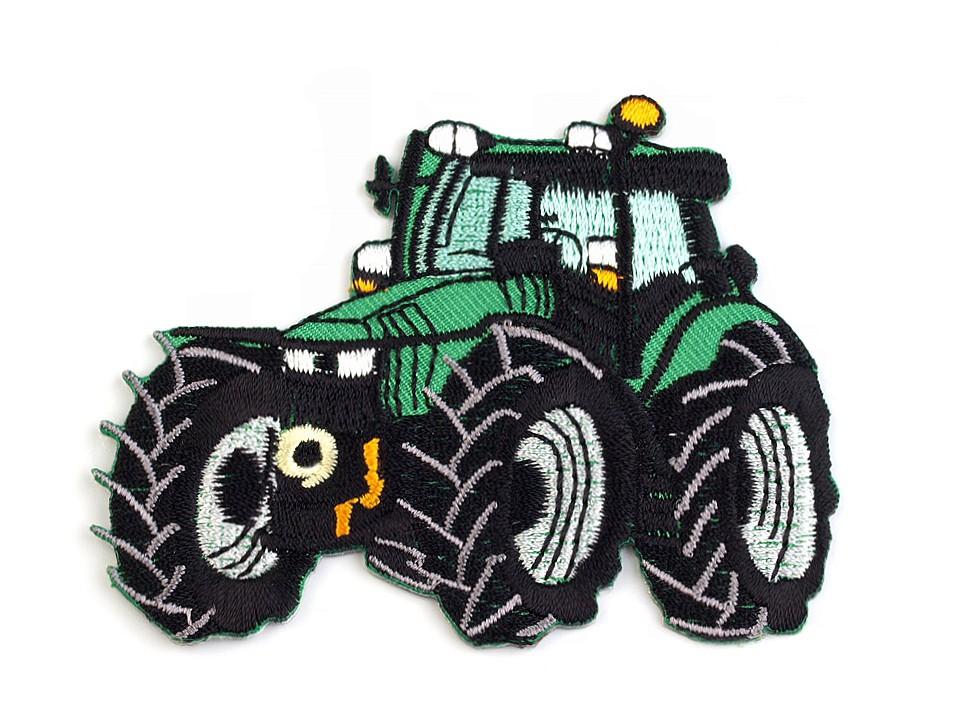 Aufbügler - Patch - Patches - Traktor -8,3cm x 6,6cm