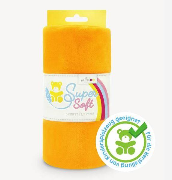 Kullaloo - Super Soft Plüschstoff - Shorty 1,5mm - Orange