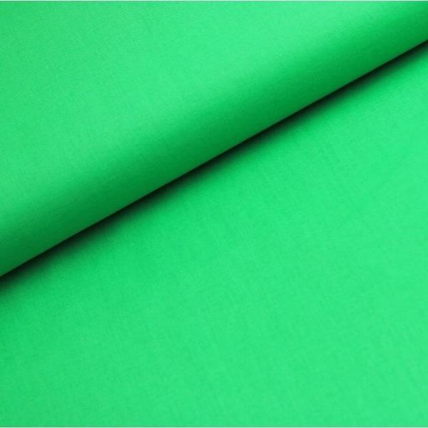 Baumwoll Stoff - Baumwolle - Uni - Hellgrün