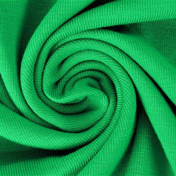 Sommersweat Stoff - French Terry - nicht angeraut - Grün