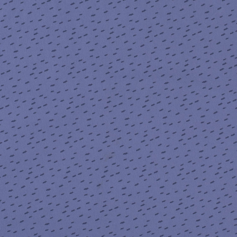 Baumwolljersey - Jersey Stoff - Motivjersey - Striche auf Indigoblau