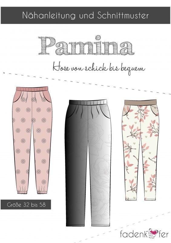 Papierschnittmuster Fadenkäfer - Pamina Erwachsene