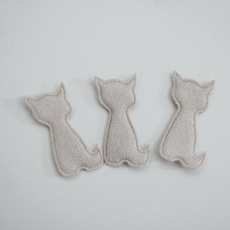 Applikation - Aufnäher - Kleines Kätzchen - 2,5cm x 4,5cm
