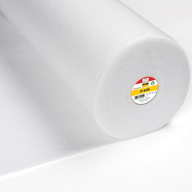 Vlieseline Freudenberg - Volumenvlies H640 fixierbar - Breite 90 cm weiß