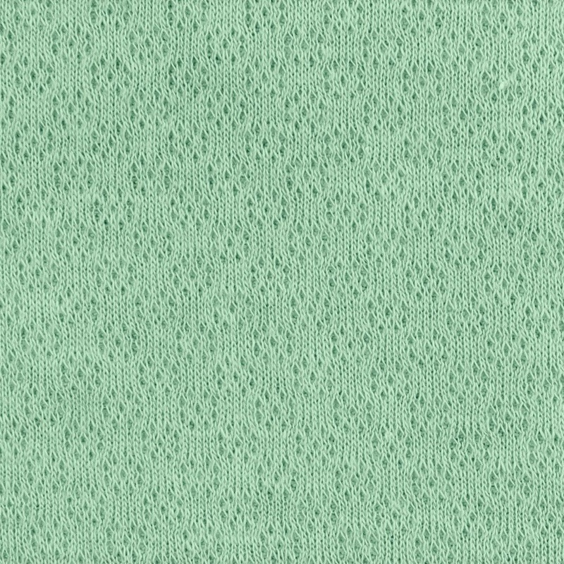 Jaquardjersey- Jaquard Stoff - Uni - Altgrün