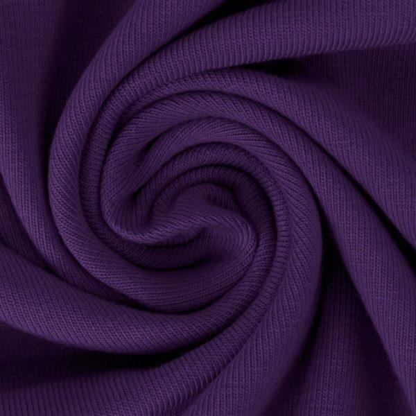 Sommersweat Stoff - French Terry - nicht angeraut - Violett