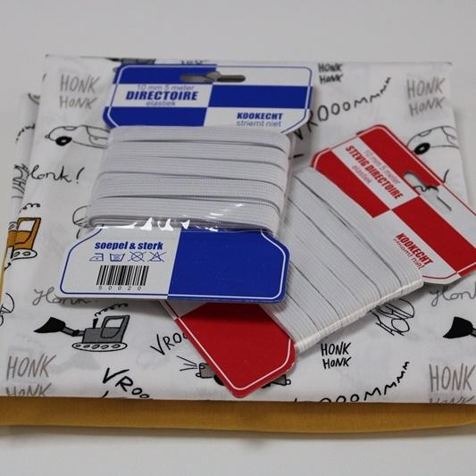 Stoffpaket Baumwollbox Maskenset - Jungen