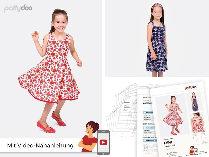 Pattydoo - Schnittmuster Leni Kinderkleid by pattydoo