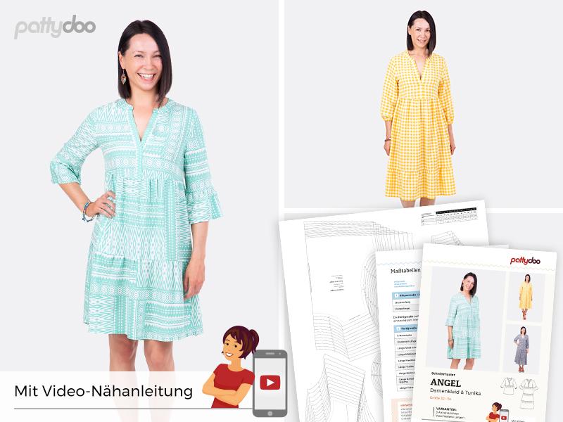 Pattydoo - Schnittmuster Angel - Damenkleid & Tunika