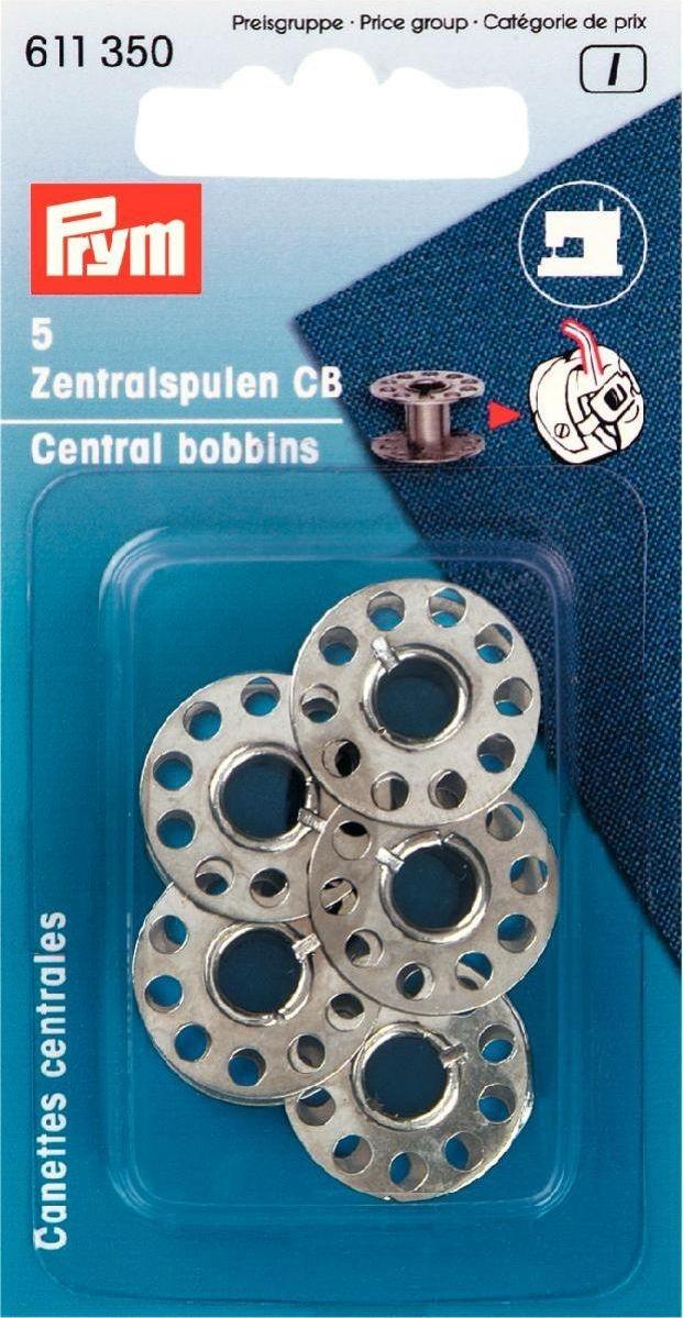 Prym - Nähmaschinen-Spulen für CB Greifer - Zentralspulen