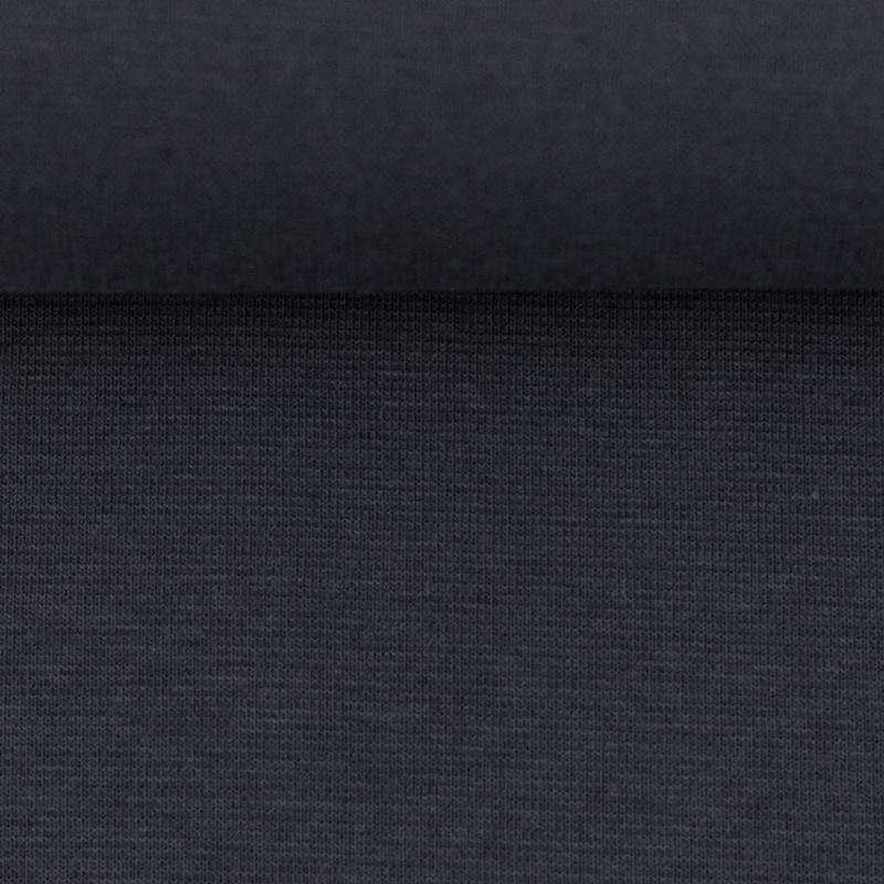 Heike, Schlauchware **Öko-Tex Standard 100**, Bündchen, uni, Anthrazit