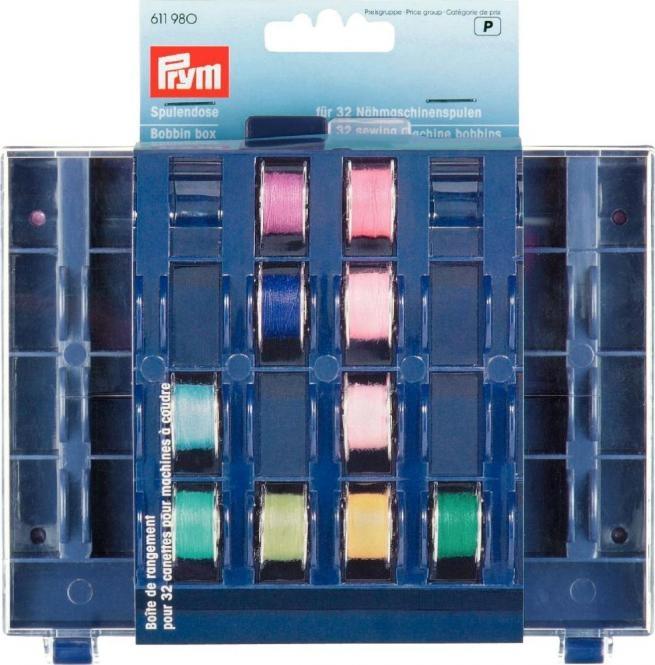 Prym Spulendose für 32 Nähmaschinenspulen - 611980