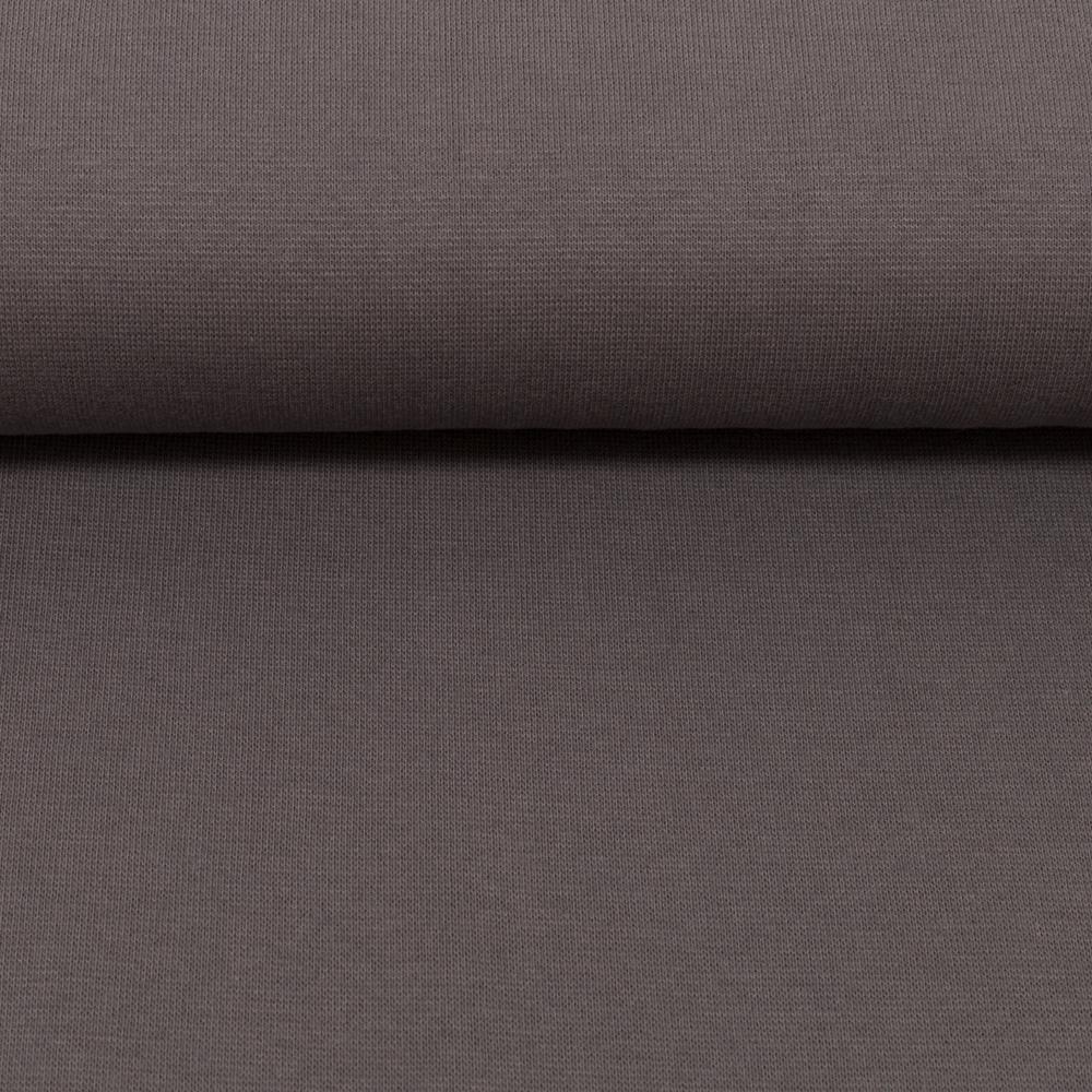 Heike, Schlauchware **Öko-Tex Standard 100**, Bündchen, uni, dunkelgrau