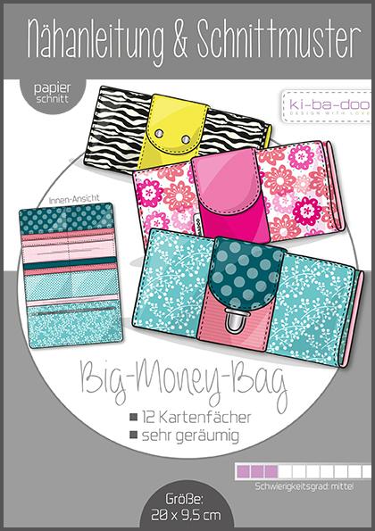 ki-ba-doo Schnittmuster - Geldbörse Big Money Bag
