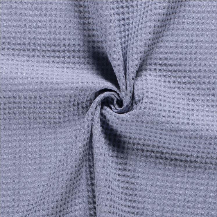 Waffel Stoff - Waffelpique - Uni - Babyblau