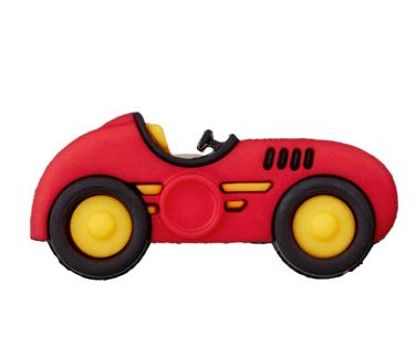 Knopf - Knöpfe - Öse Auto Rot - 1 Stück