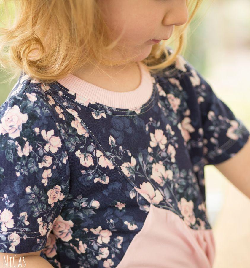 Wer in unserer Schnuckidu Nähgruppe ist, konnte dieses zauberhafte Outfit für Ninas kleine Tochter schon bewundern.