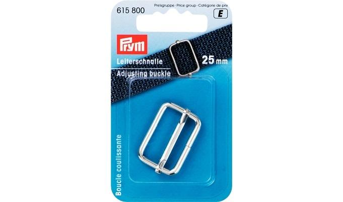 Prym - Leiterschnalle 25 mm silberfarbig
