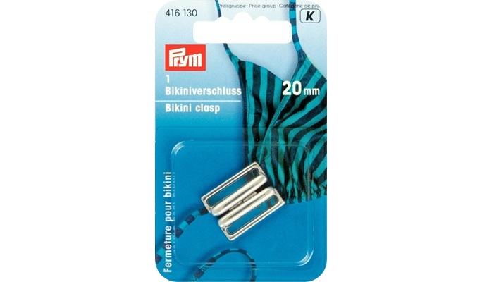 Prym - Bikiniverschluss Silber 416130