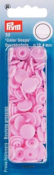 Prym - Druckknöpfe Color Snaps rund 12,4mm - Rosa
