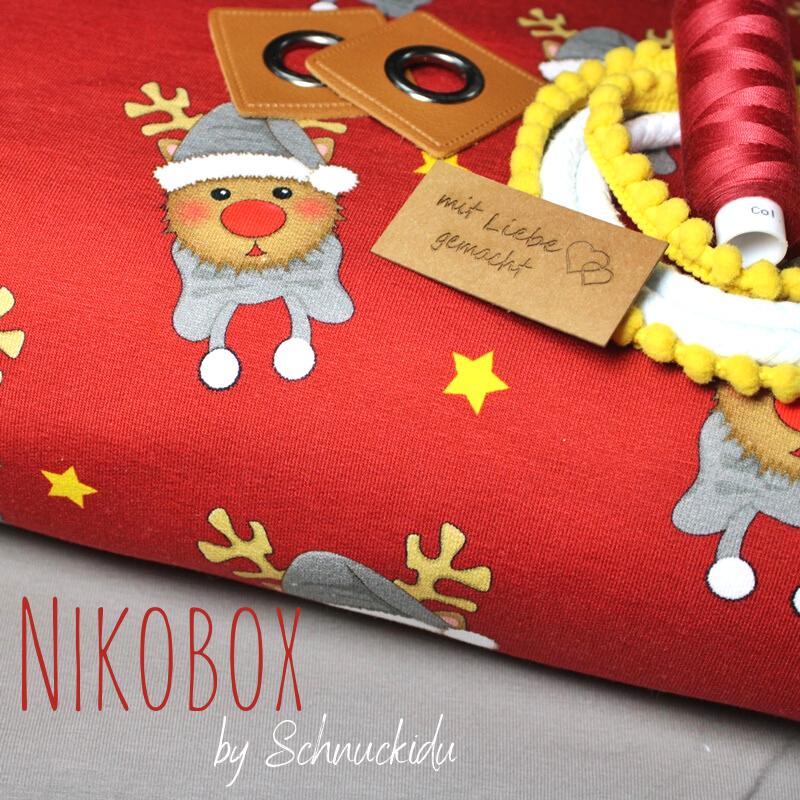 Nikobox - Nikolausbox by Schnuckidu - 6 Meter Stoff & Tüddel - VORBESTELLUNG