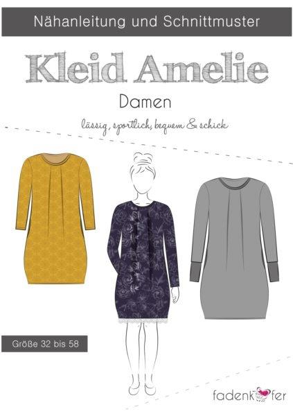 Papierschnittmuster Fadenkäfer - Kleid Amelie - Damen