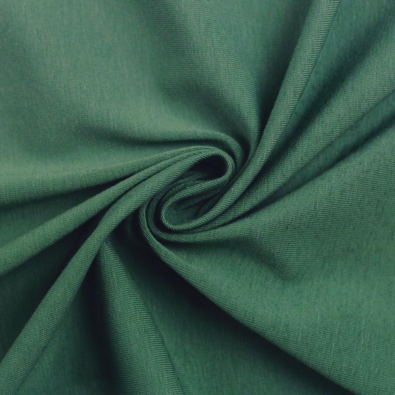 Baumwoll Jersey - Jersey Stoff - Swafing - Vanessa - Uni - helles Waldgrün